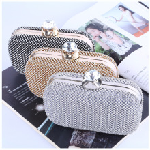 Luxury Diamond Evening Clutch New Pattern Banquet Evening bags Diamond Bride Handbag women bag With Chain Shoulder Bag