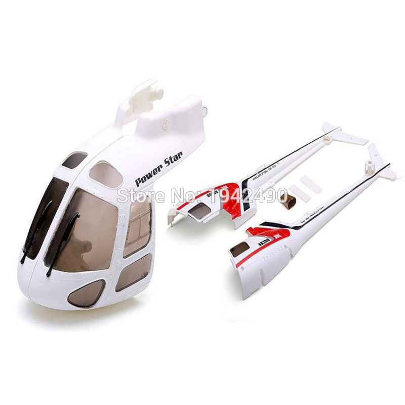 Xk K123/Wltoys V931 części zamienne do zdalnie sterowanego helikoptera obudowa korpusu  osłona głowicy akcesoria do części zamiennych w Części i akcesoria od Zabawki i hobby na title=
