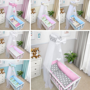 Babybed Aan Bed Ouders.Baby Beddengoed Sets Baby Ademend Beddengoed Wieg Bumper Baby Bed