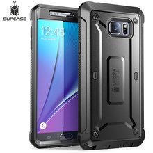 Do etui Galaxy Note 5 5.7 cala SUPCASE UB Pro wytrzymałe kaburowe etui z wbudowanym ochraniaczem ekranu do Samsung Note 5