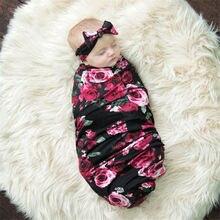 Пеленка для новорожденных младенцев пеленка для сна муслиновая пеленка+ повязка на голову