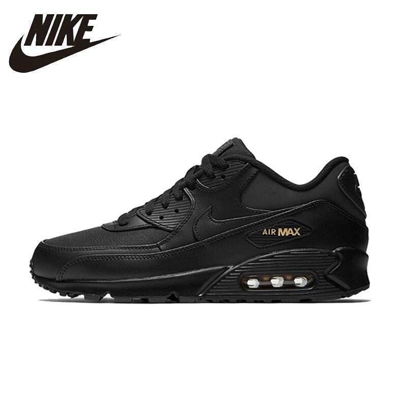online retailer beb24 e631c NIKE AIR MAX Originais Estabilidade 90 Mens Running Shoes Respirável Apoio  para o punho Esportes Tênis