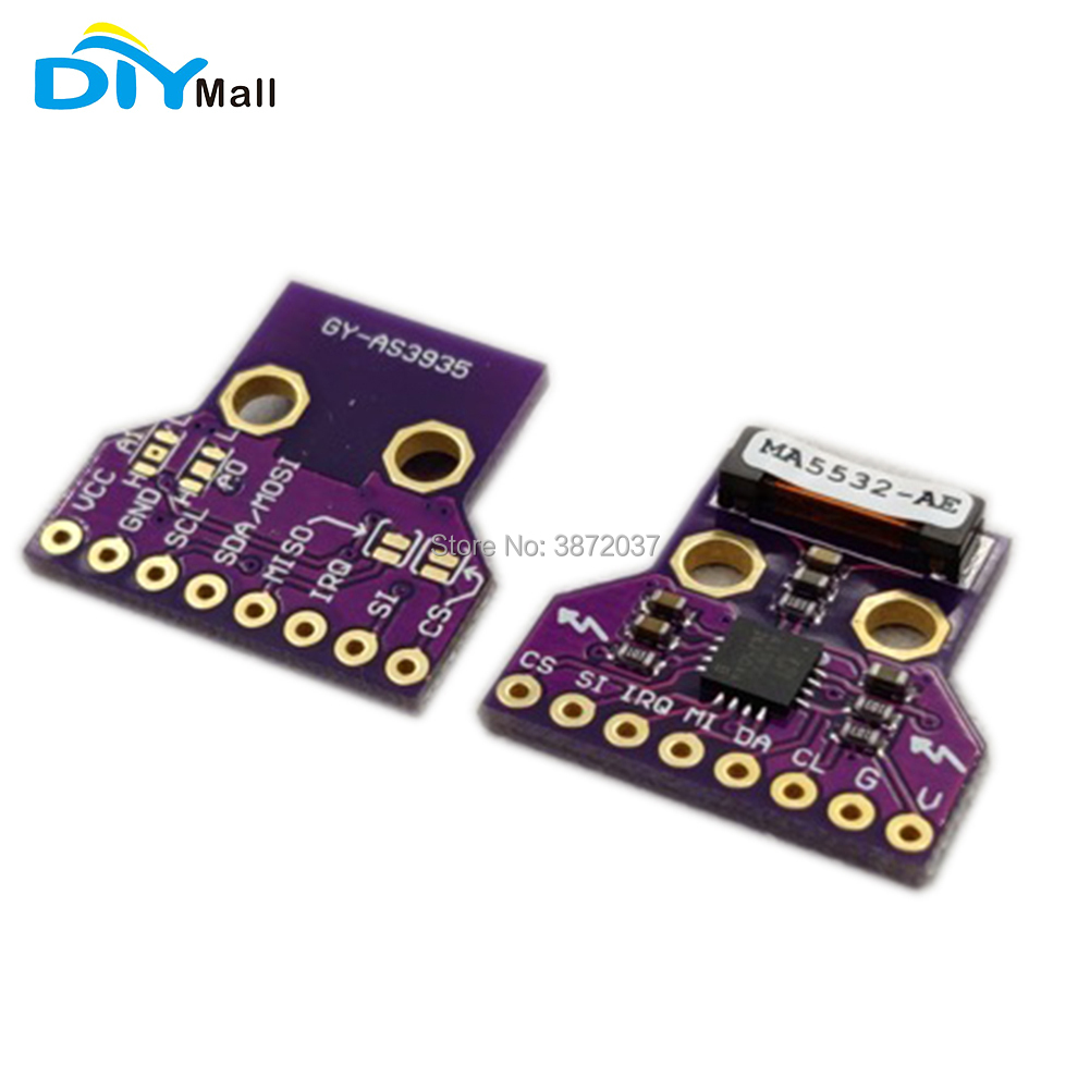 DIYmall GY-AS3935 AS3935 Light-ning Detector Digital Sensor SPI I2C Interface Distance Detection