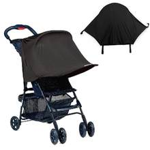 Baby Stroller UV Protection Black Awning Summer Baby Safety Seat Umbrella Baby Car Wind Hood Safety Seat Accessories(China)