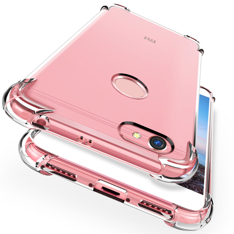 phone cover for <font><b>xiaomi</b></font> <font><b>redmi</b></font> 6a 4x 5plus s2 case TPU crystal Airbag case for <font><b>xiaomi</b></font> <font><b>redmi</b></font> <font><b>note</b></font> <font><b>7</b></font>/5/6 <font><b>7</b></font> <font><b>pro</b></font> <font><b>global</b></font> <font><b>version</b></font> case image