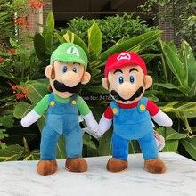 Stuffed Toy Collection Soft-Doll Game-Allstar Luigi Plush Bros 38cm Standing