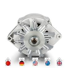 Автомобильный высоковыходной генератор для GMC 65-85 один провод 90 Ампер 90А холостого хода серебро 1105607