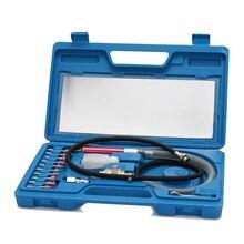 16 sztuk High Speed Air Micro młynek do mielenia zestawy mini ołówek polerowanie grawerowanie narzędzie profesjonalne narzędzie do szlifowania cięcia narzędzia pneumatyczne