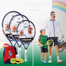 0a2cc4224 23 25 CABEÇA Polegada Originais Tenis Raquete Composto de Carbono Raquete De  Tênis Criança Raquete