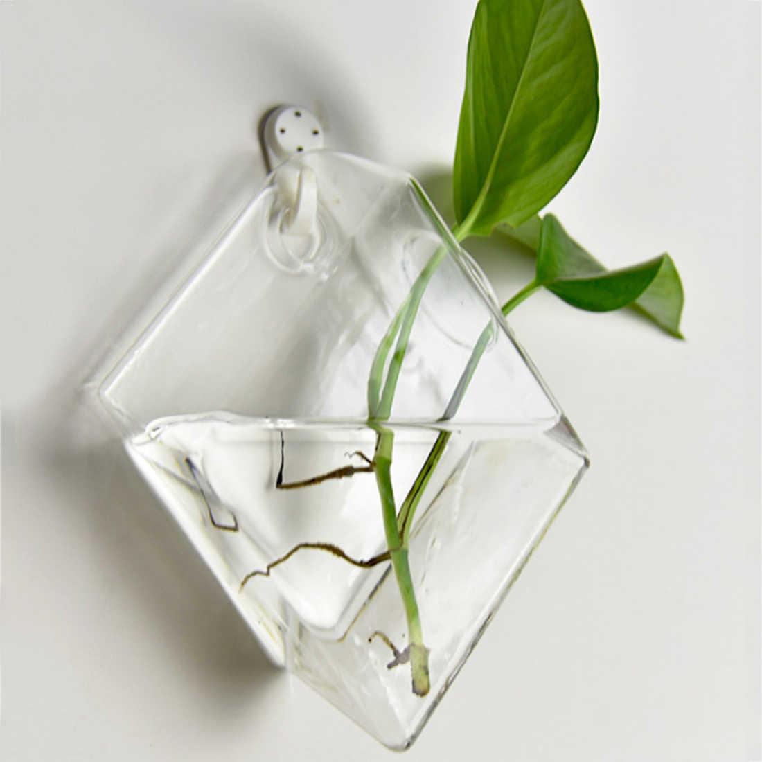 Горячие креативные Висячие Ваза Рыбная чаша настенные стеклянные контейнеры для гидропоники продукция для питомцев аквариум для Betta рыба домашний декор