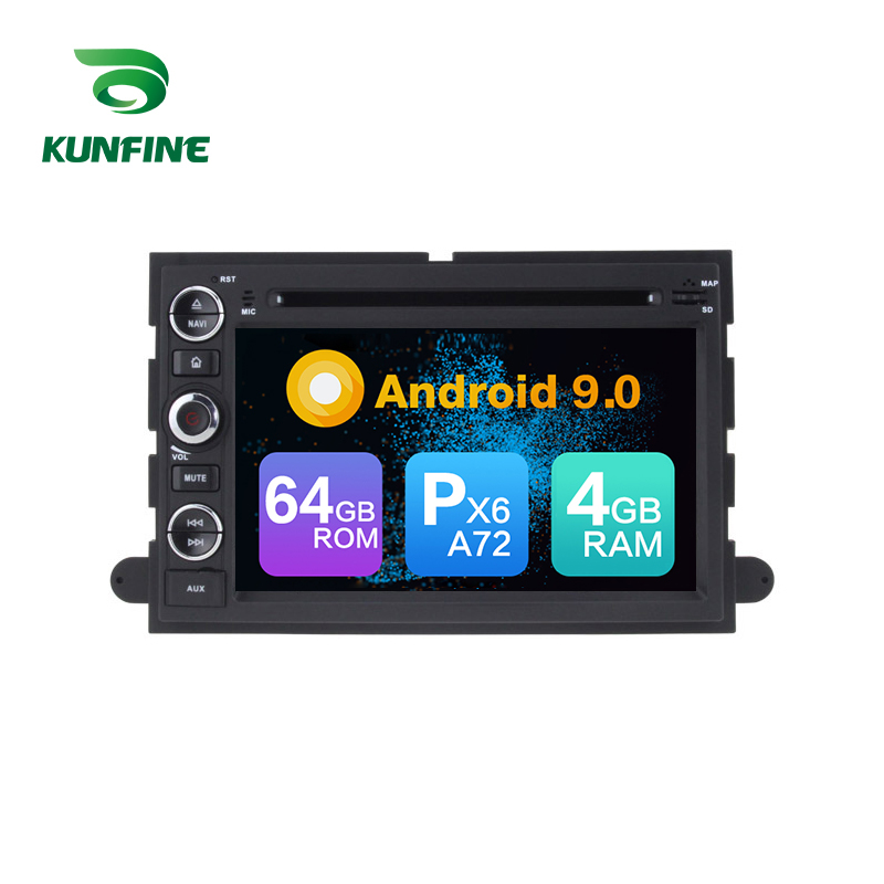 Android 9,0 Core PX6 A72 Ram 4G Rom 64G Auto DVD <font><b>GPS</b></font> Multimedia-Player Auto Stereo <font><b>F</b></font>ür FORD f150 2004-2008 Radio Steuergerät image