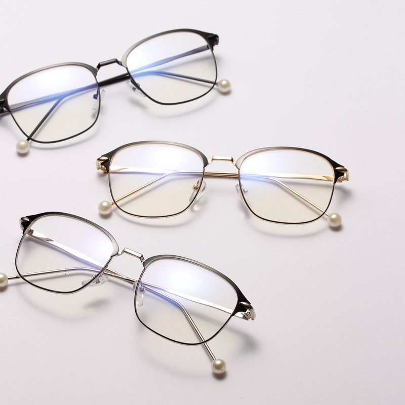 2019 Noenname_null New Women Alloy Women's Myopic ...