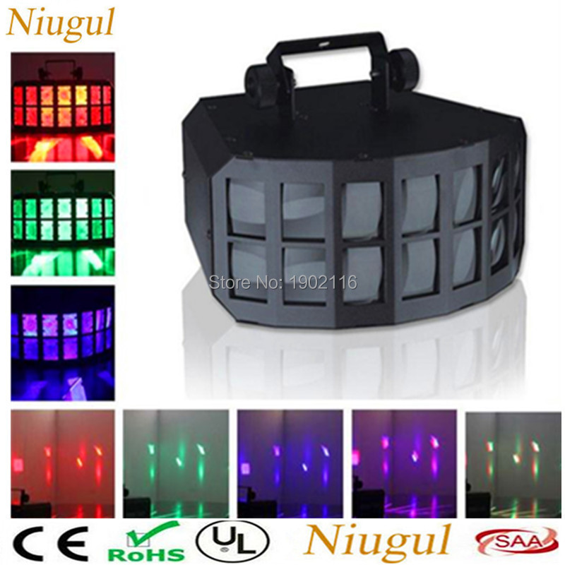 DMX512 LED Butterfly Stage Light/50W RGBW 4in1 LED Double Butterfly Light /Club Disco Bar KTV Lights/LED Beam Effect DJ LightingDMX512 LED Butterfly Stage Light/50W RGBW 4in1 LED Double Butterfly Light /Club Disco Bar KTV Lights/LED Beam Effect DJ Lighting