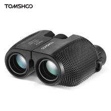 цена на Outdoor 10x25 BAK4 Prism Binocular High Powered Professional Portable Binoculars Telescope Pocket Scope for Hunting Camping