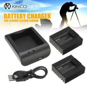 DVR Sports-Camera SJ6000 900mah Desktop-Charger Charging Li-Ion-Battery USB for Sj5000/Sj6000/Action
