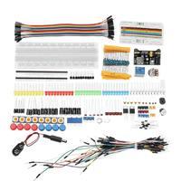 Электронные компоненты Junior Starter наборы с резистором макет питание модуль для Arduino с пластик коробка посылка
