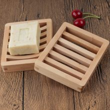 Элегантные серьги, отличное-дерево Цвет жидкого мыла или ополаскивателя для деревянный держатель мыла