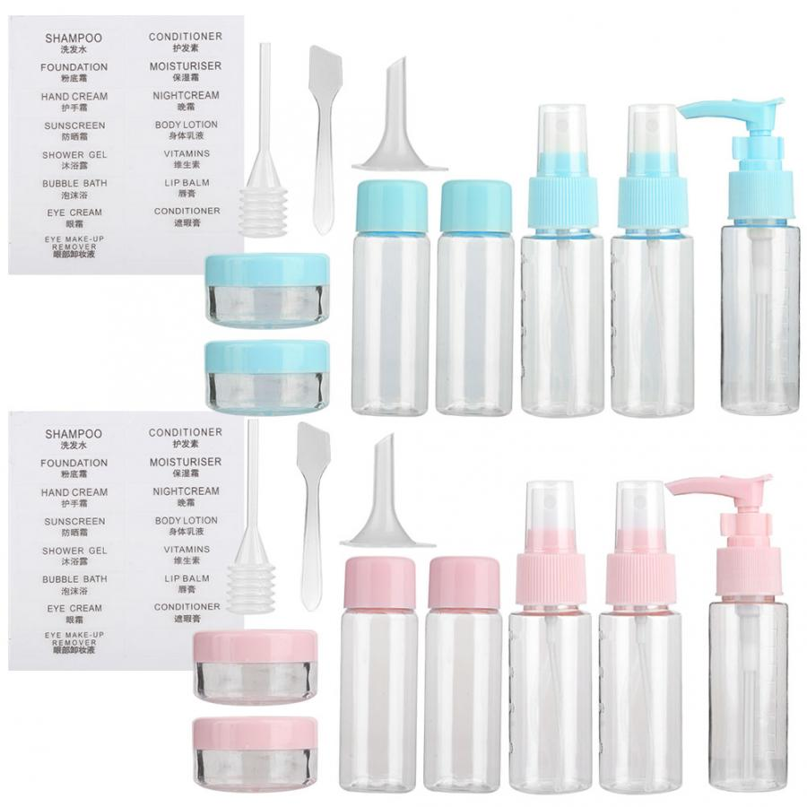 f32c5be8564e US $3.85 38% OFF|Makeup Jars 10pcs Clear Makeup Spray Bottle Lotion Empty  Container Bottles Travel Set Kit Parfum-in Refillable Bottles from Beauty &  ...