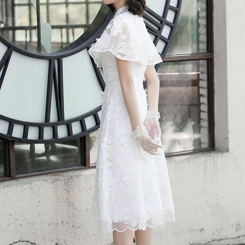 Tempérament Organza Et Printemps Lady 90020 Robe 2019 D'été Nouveauté White Brodé Princess Princesse nca8xcqTWw