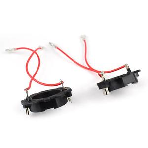 Image 3 - Vodool 2 pçs h7 carro led farol lâmpada base titular adaptador retentor clipe soquete para vw golf 5 mk5 jetta farol lâmpada acessórios