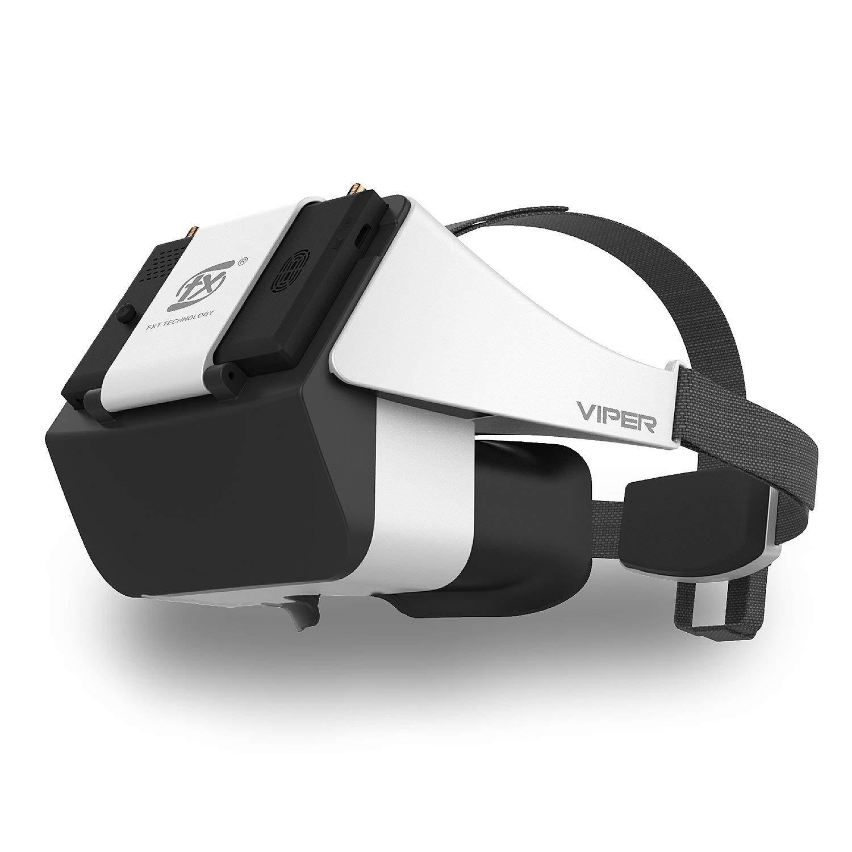 FXT VIPER Version 2.0 5.8G diversité HD FPV lunettes vidéo avec DVR réfracteur intégré pour Drone RC quadrirotor FPV accessoires