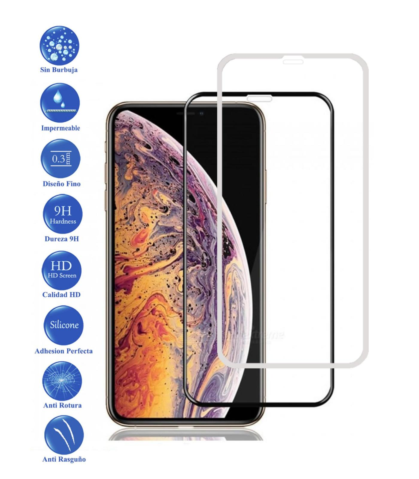Tempered Glass Protector Full 3D 9 H For Apple IPhone XR Choose Color