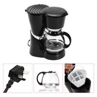 600ml Electric Automatic Coffee Maker Machine Black Drip Filter Coffee Maker Latte Expresso Tea Household Commercial Appliance