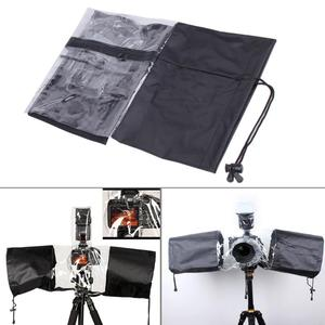 Image 4 - Professional Camera Rain Cover Raincoat Waterproof Dust Protector for Canon 5D3 70D 6D for Nikon D3000/ D3200/ D5100 for Pentax