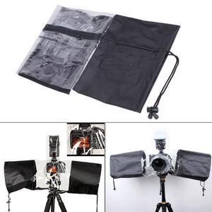 Image 4 - Professionelle Kamera Regen Abdeckung Regenmantel Wasserdicht Staub Protector für Canon 5D3 70D 6D für Nikon D3000/ D3200/ D5100 für Pentax