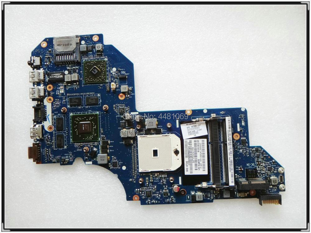 687229-001 QCL51 <font><b>LA</b></font>-<font><b>8712P</b></font> for HP Pavilion M6 M6-1000 NOTEBOOK 687229-501 motherboard HD7670M/2G All fully Tested! image
