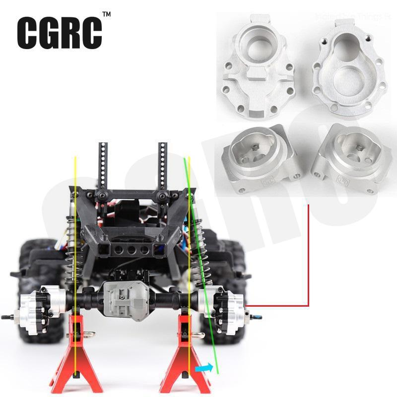 4pcs Rear Axle Base C Gear Box Base Upgrade For 1 10 Rc Rock Crawler Trx4