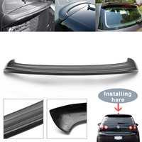 Full Carbon Fiber Rear Roof Spoiler Wing Lip For Volkswagen for VW Golf 5 MK5 GTI R32 05 07 Primer Rear Window Spoiler