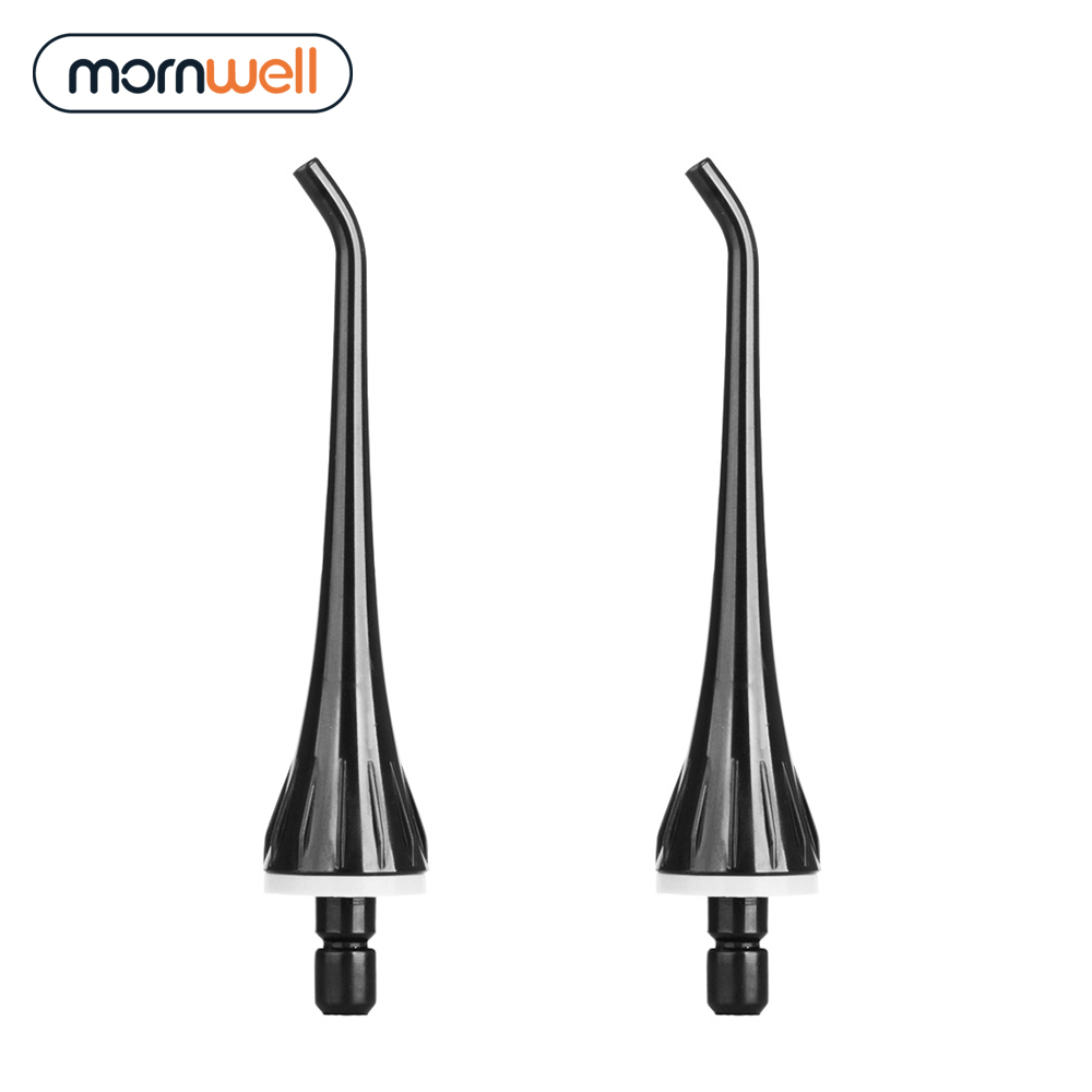 Mornwell Braces Oral-Irrigator Water-Flosser 2-Replacement with D50BS for Tips Compatible
