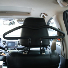 Soft PVC Car coat Hangers Back Seat Headrest Coat Clothes Ha