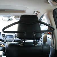 Soft PVC cabides Carro de Volta Assento Encosto de Cabeça Brasão Roupas Casacos Ternos Titular Cabide Rack de Suprimentos de Automóveis Para O Carro Universal