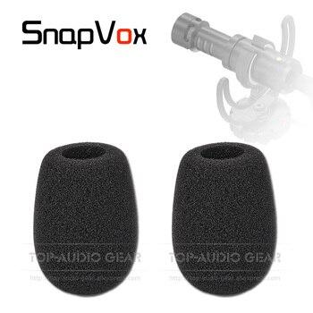 Mikrofon szyba przednia szyba gąbka pianka do RODE VIDEOMICRO Compact na kamerze mikrofon Videomic wideo mikro nagrywanie Mic