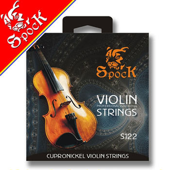 Spock Violin Strings Nickel Silver Wound Stainless Steel Core S122 image