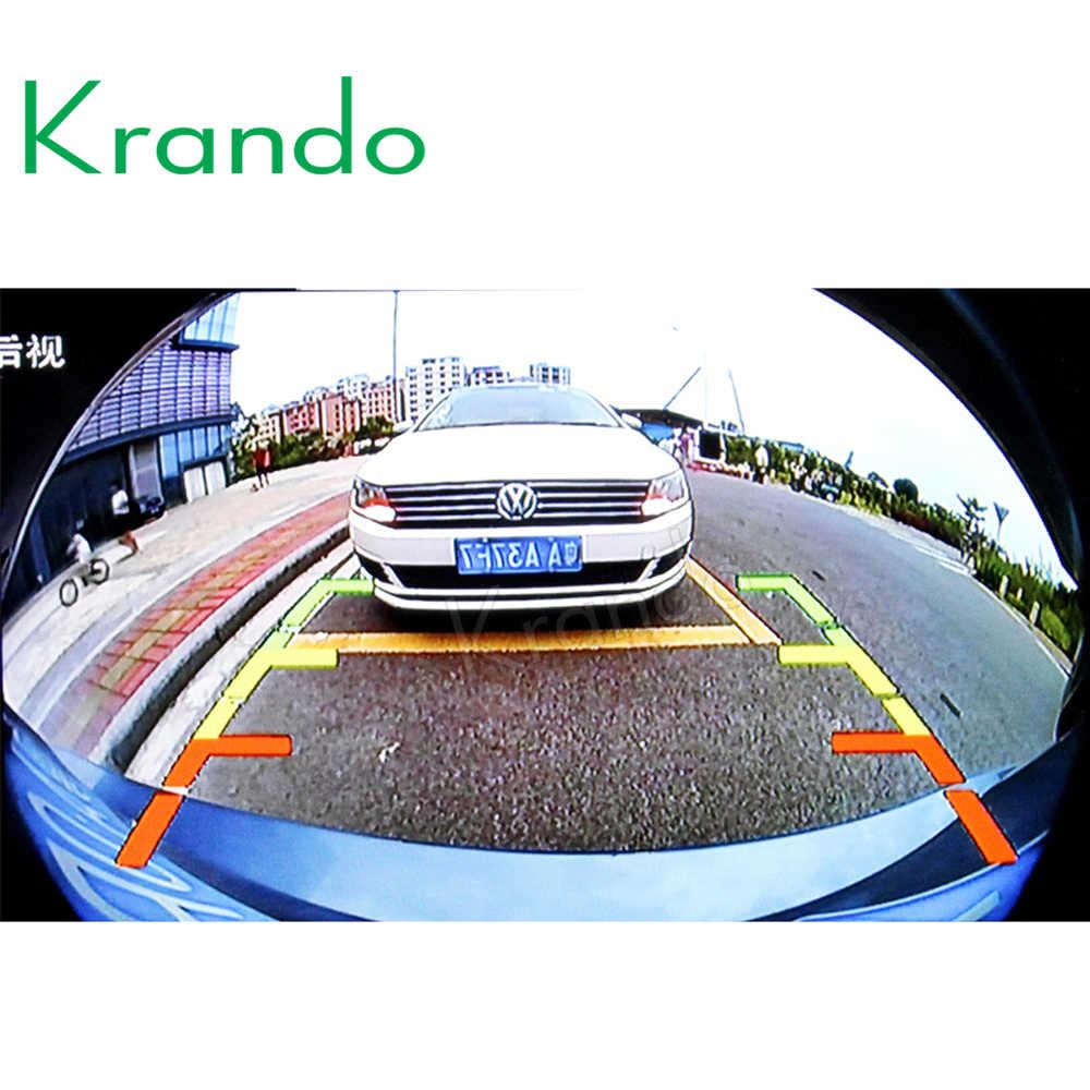 Автомобильный Krando1080P супер 3D 360 градусов Система наблюдения за птицами панорамный обзор все круглые камеры с видеорегистратором для вождения