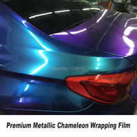 Extravagant Premium quality Pearl gloss Chameleon Vinyl Purple / red Vinyl Car Wrap Film With Air Bubble Free