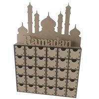 2019 Ramadan Decoration Drawer Seal Stickers Decor Mubarak Decor Eid Mubarak DIY Home Decoration Party Supplies