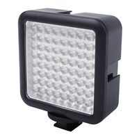 Godox 64 LED Camera LED Panel light,Portable Dimmable Camera Camcorder Led Panel Video Lighting for DSLR Camera