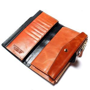 Image 4 - 2020 New Design Fashion wielofunkcyjna portmonetka z prawdziwej skóry portfel damski w dłuższym stylu portfel z krowiej skóry torba hurtowa i detaliczna