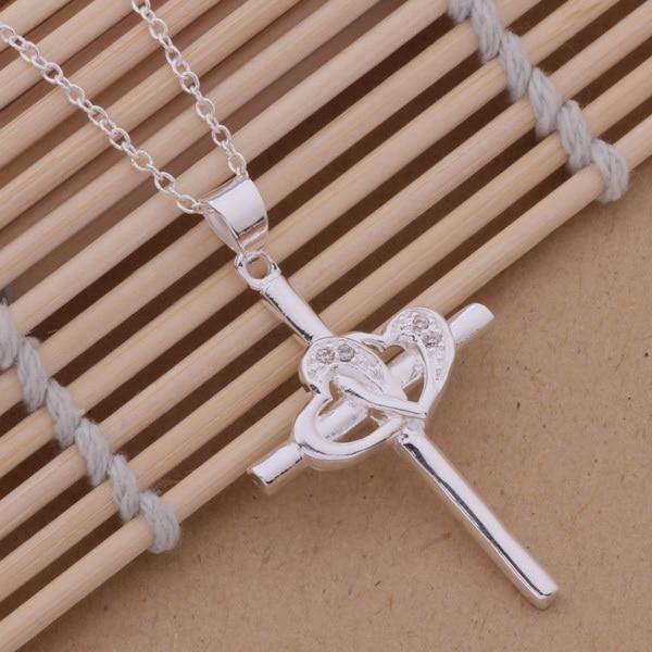 An107 горячее серебро 925 пробы ожерелье серебро 925 пробы модные ювелирные изделия кулон с круговыми предметами Креста/gghaoxoa Akvajcca