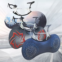 Практичный чехол для велосипеда колеса велосипеда пыленепроницаемый устойчивый к царапинам мешок для хранения внутри Защитное снаряжение...