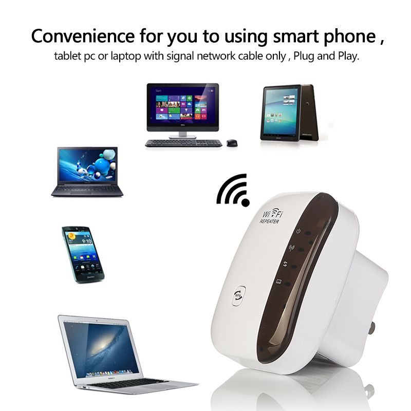 2 Model New Arrival Wireless Wifi Repeater WiFi Routers 300Mbps Range Expander Signal Booster Extender WIFI Ap Wps Encryption