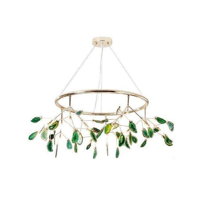 Light Comedor Hang Led Industrial Decor Crystal Decoracao Para Casa Luminaria Lampara De Techo Colgante Moderna Hanging Lamp
