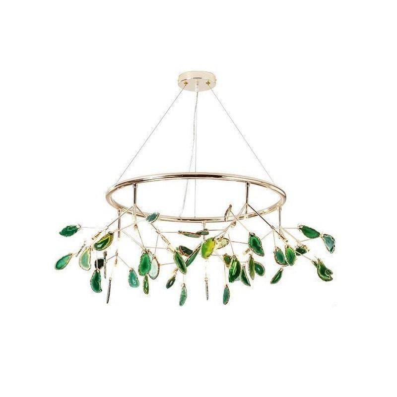 Light Comedor Hang Led Industrial Decor Crystal Decoracao Para Casa Luminaria Lampara De Techo Colgante Moderna