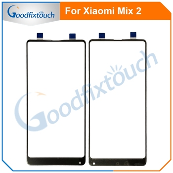 For Xiaomi Mix 2 Mi Mix2 Touch Screen Glass Panel Sensor Touchpad Front Glass Panel For Xiaomi Mix2 MiMix2 Replacement Parts