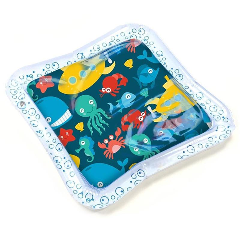 Cartoon Soft Baby Ice Pad Large Inflatable Prone Pat Water Play Cushion Toys Summer Kids Swimming Beach Pool Game Baby Gyms Mat