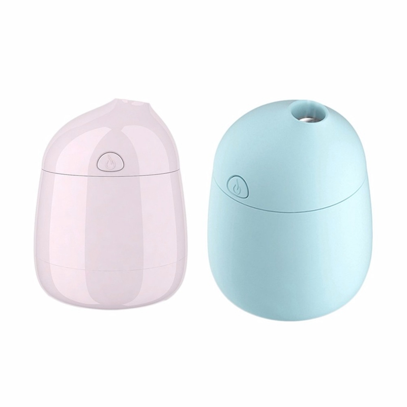 120Ml Usb Portable Anion Mini Aroma Humidifier Air Diffuser Car Purifier Atomizer Refresher Filter 2 8H Timing Humidificado in Humidifiers from Home Appliances
